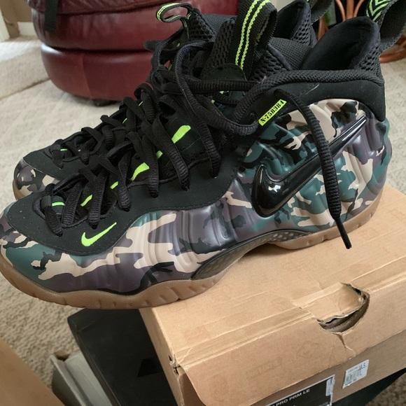 Nike Air Foamposite Army Camo Mens Size